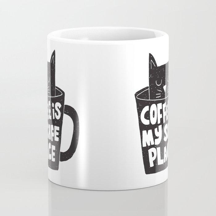 coffee is my safe place Coffee Mug