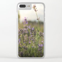 flower photography by Jon Phillips Clear iPhone Case