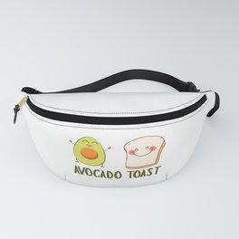 Avocado Toast Art Work | Gift Idea Fanny Pack