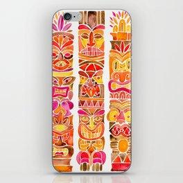 Tiki Totems – Fiery Palette iPhone Skin