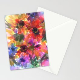 Sunflower Carnival Stationery Cards