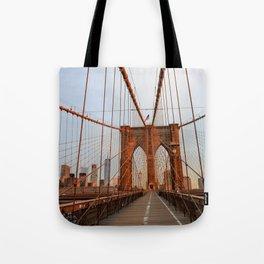 Brooklyn Bridge Sunrise Tote Bag