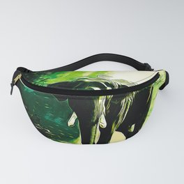 elephant jungle sunray va hg Fanny Pack