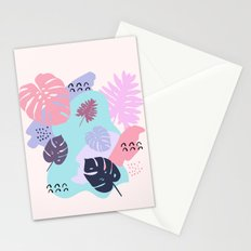Monsteras Stationery Cards