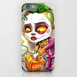 I Started A Joke iPhone Case