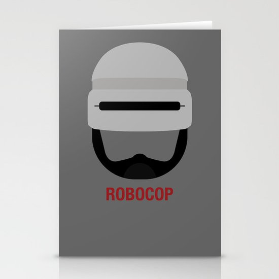 ROBOCOP Stationery Cards