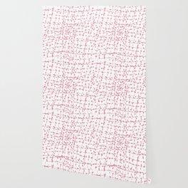 Fractured Pattern Soft pink Wallpaper