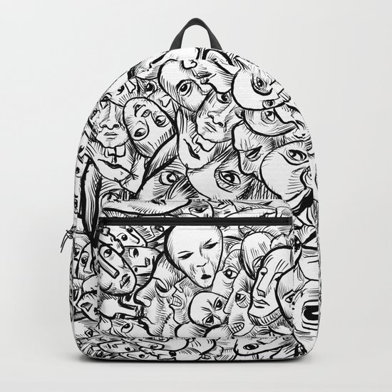 Faces and more faces Backpack