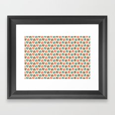 3Hearts Framed Art Print