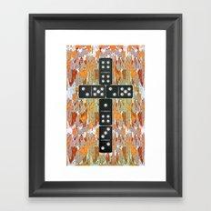 Holy Domino.0.2 Framed Art Print