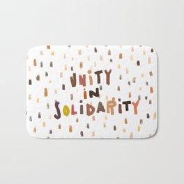 Unity in Solidarity Bath Mat