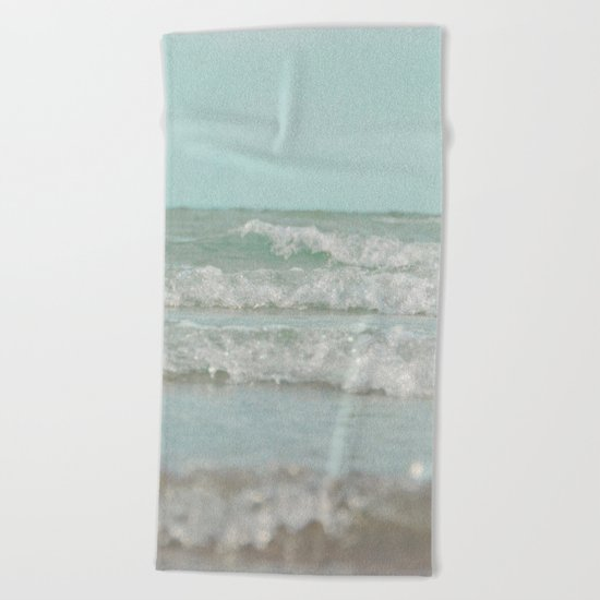 Mint Ocean Beach Towel