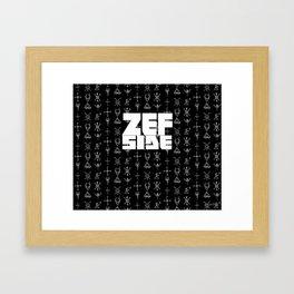 Zef Side Design Framed Art Print