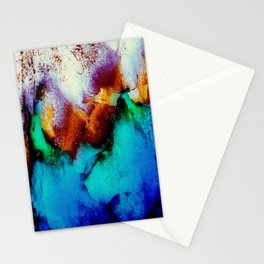 Colors In Motion Stationery Cards