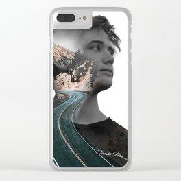 Santa Monica Clear iPhone Case