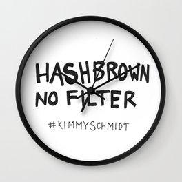 Hashbrown No Filter Wall Clock