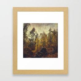 Find your place Framed Art Print