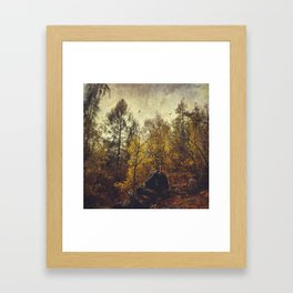 Find your place Framed Art Print