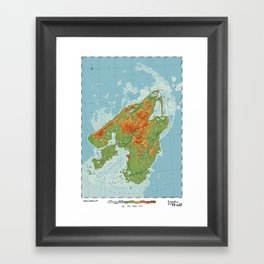 Canis - Land of the Wolf Framed Art Print