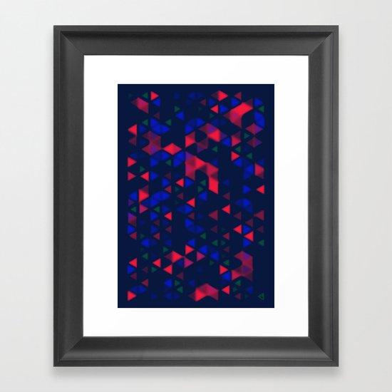 Okla Framed Art Print