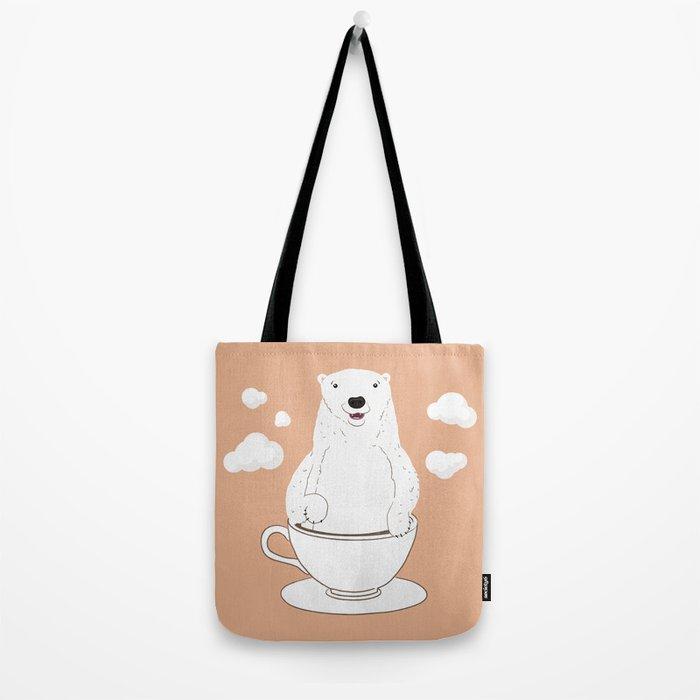 Take a Cup of Bear Tote Bag