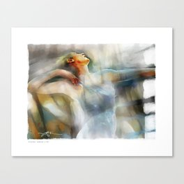 The Last Dance, dancer Canvas Print