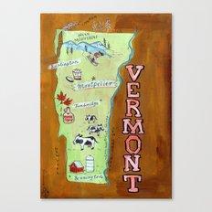 VERMONT Canvas Print