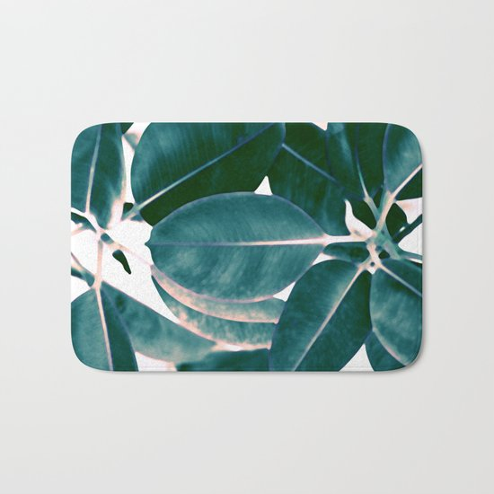 Tropical abstract(7). Bath Mat