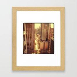 Inner Sydney Framed Art Print