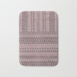 triangle kilim in pale pink Bath Mat