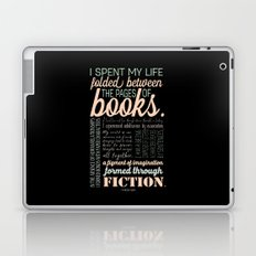 Folded Between the Pages of Books - Pastel Laptop & iPad Skin