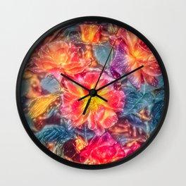 Rose 418 Wall Clock