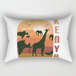 Kenya Is Wonderful Rectangular Pillow
