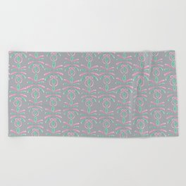 Cereal for Dinner - Geometric Beach Towel
