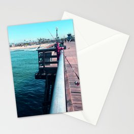 Seal Beach Pier Stationery Cards