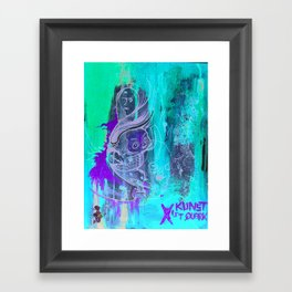 Art Is Yoghurt / Kunst ist Quark Framed Art Print