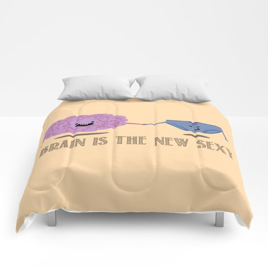 Brain is the new sexy Comforters