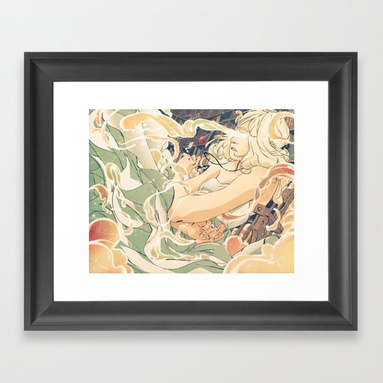 Mother, Crone, Maiden Framed Art Print