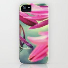 Dancing Crinum Lilies iPhone Case