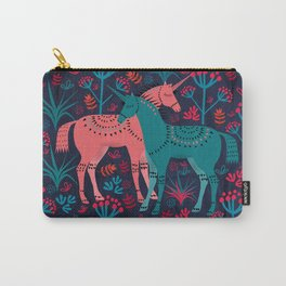 Unicorn Land Carry-All Pouch