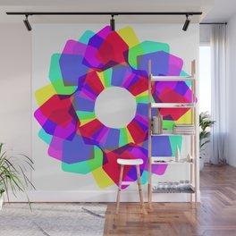 techno dudes flower Wall Mural