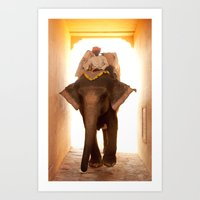 india Art Prints featuring India by Esther Havens