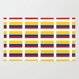 Flag of Colombia 2 -Colombian,Bogota,Medellin,Marquez,america,south america,tropical,latine america Rug