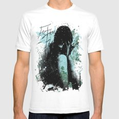 In Pieces Mens Fitted Tee White MEDIUM