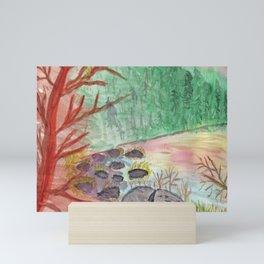 The Cove at Wallum Lake Mini Art Print