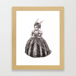 Don't Play With My Toys Framed Art Print