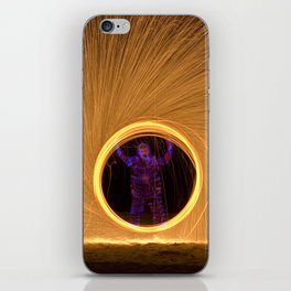 Light Man iPhone Skin