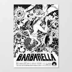 Barbarella Canvas Print