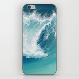 Musical Thunder iPhone Skin