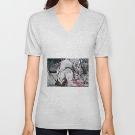 All my friends/Lost on the moon Unisex V-Neck